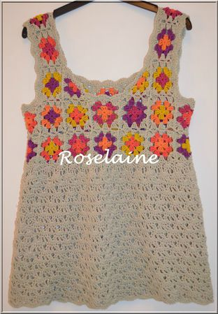 Roselaine278 tunique crochet