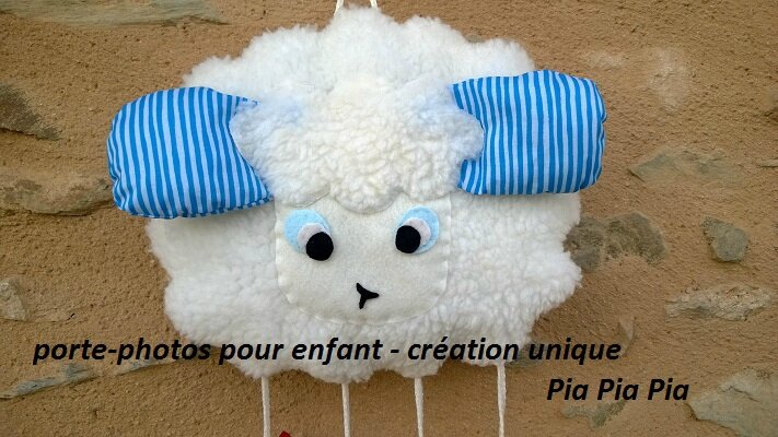 porte-photos mouton by Pia Pia Pia