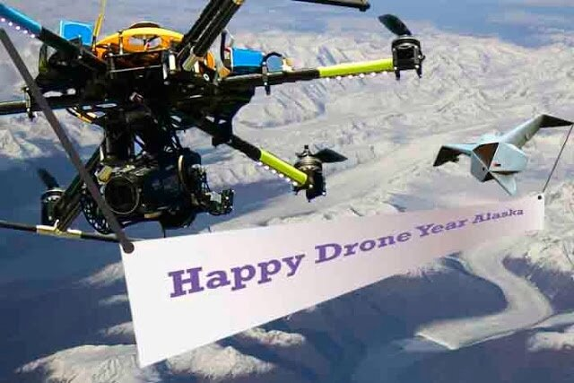 Happy Drone New year