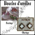 5.Boucles d'oreilles