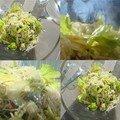 Salade aux 3 céleris et leur sauce thaî
