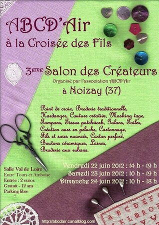 ABCD'Air affiche salon 2012