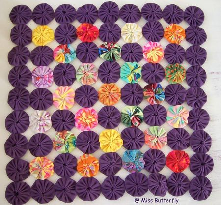 Mini quilt May