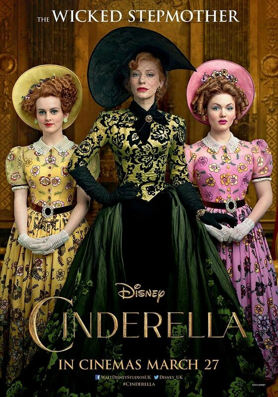 The Wicked stepmother Cinderella movie poster