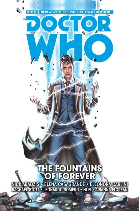 titans doctor who the tenth doctor vol 3 the fountains of forever HC