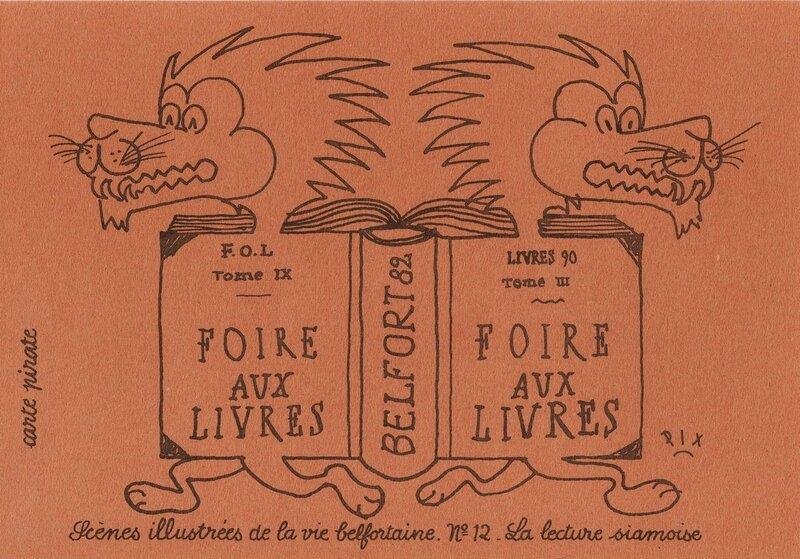 CPM Foire aux livres CPM RIX