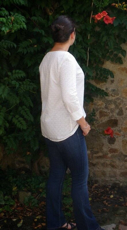 Confortable broderie anglaise (5)