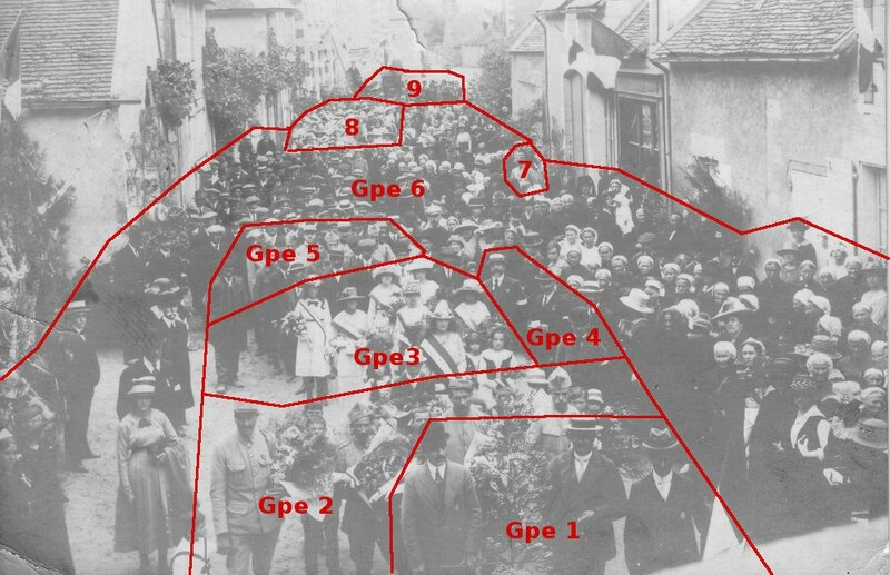 Martizay_19190803_Defile_Recto_IdentificationGroupes