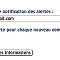 Comment recevoir une alerte à chaque nouveau commentaire et y répondre par email ?