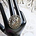 Steampunk ring/ bague steampunk