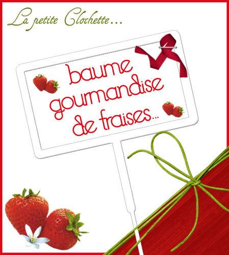 baume fraise rouge