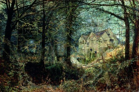 Grimshaw__Autumn_Glory__The_Old_Mill