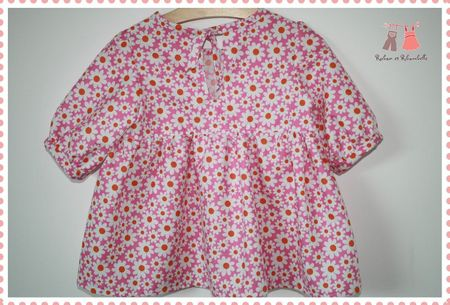Blouse rose dos1