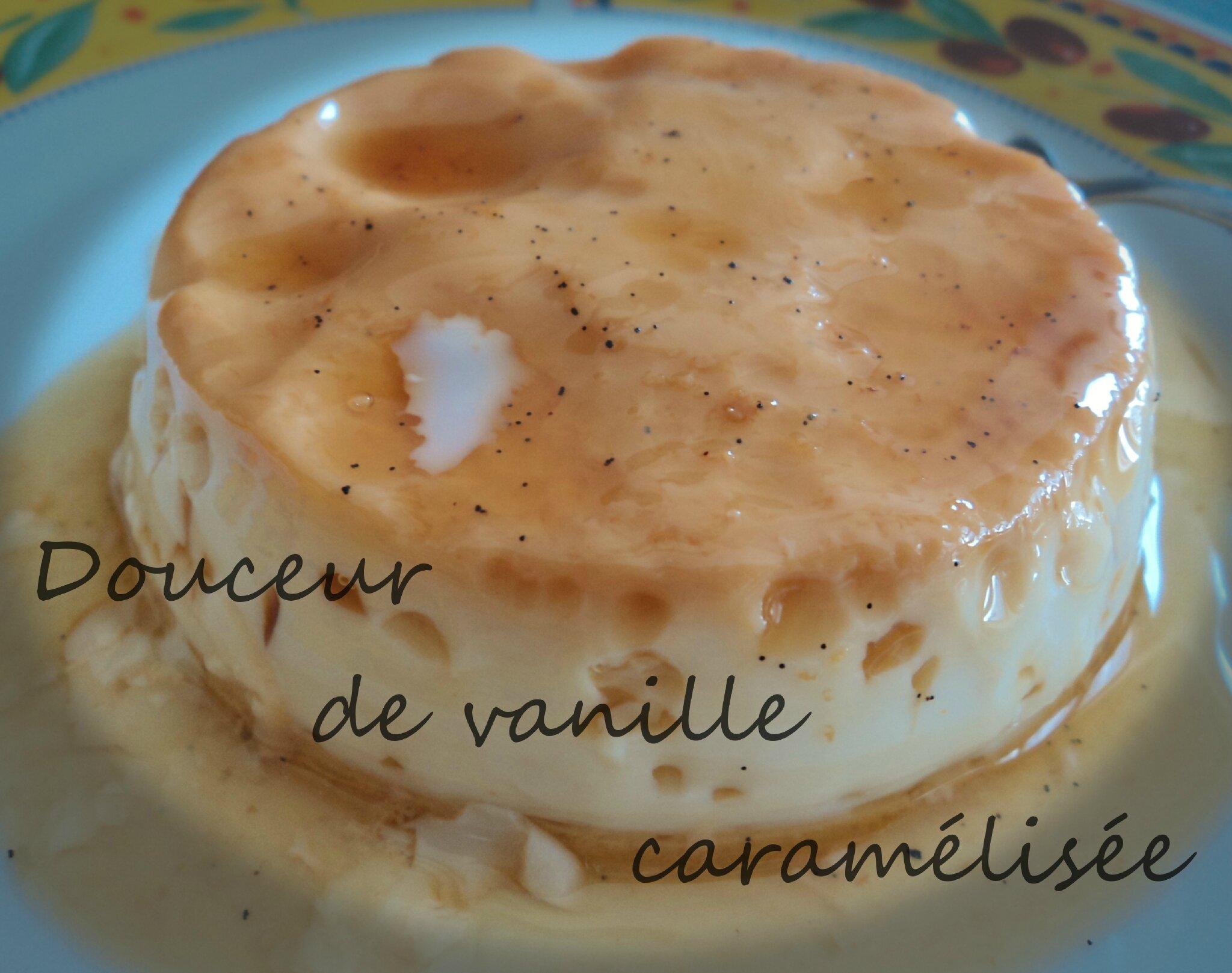 Douceur de vanille caramélisée