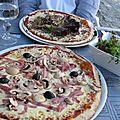 Pizzas Le Phare, le top, Saint-Martin de Ré, mai 2011.