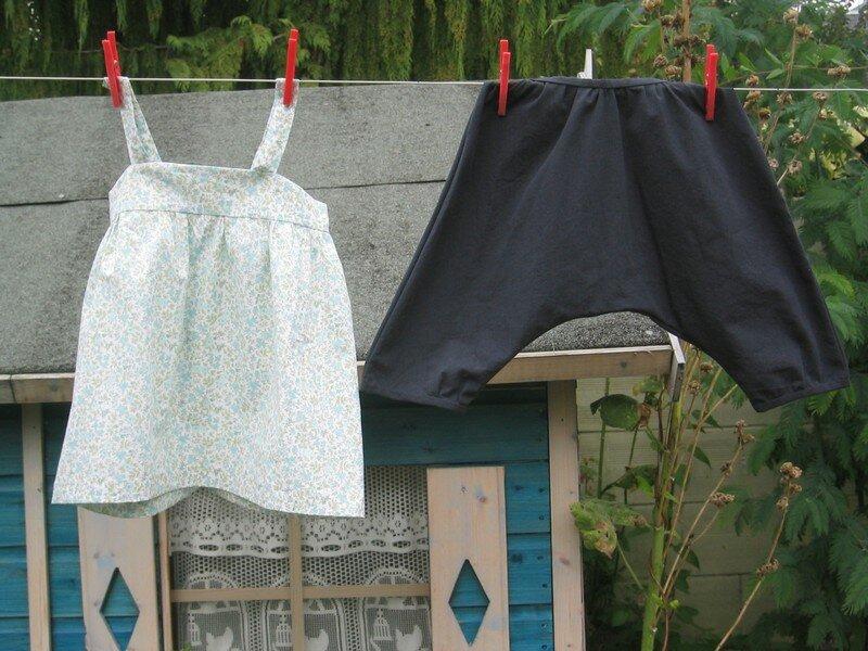 Calixte et blouse intemporelle