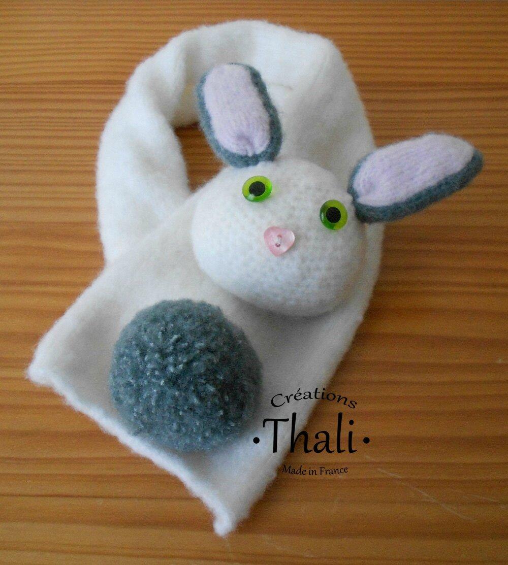 Écharpe lapin - Le blog de Thali, Activités pour petites mains e3cee8fe2cf