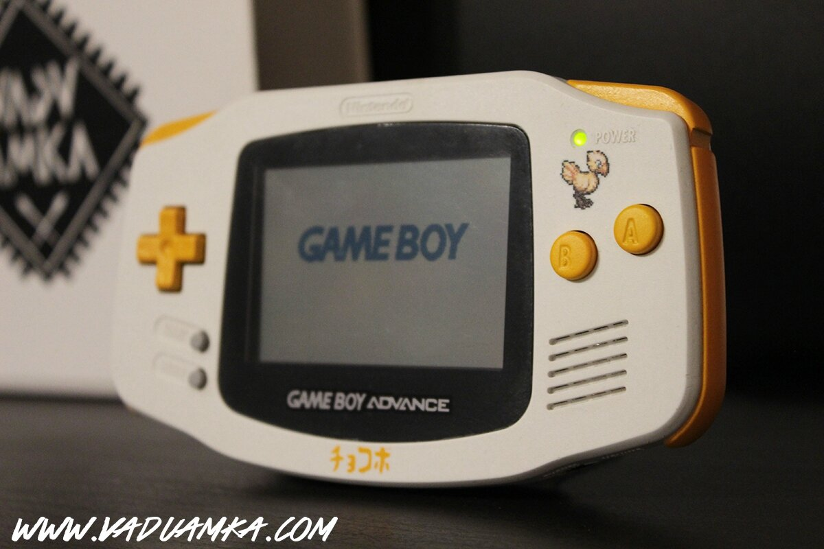 Game Boy Advance Chocobo - Final Fantasy