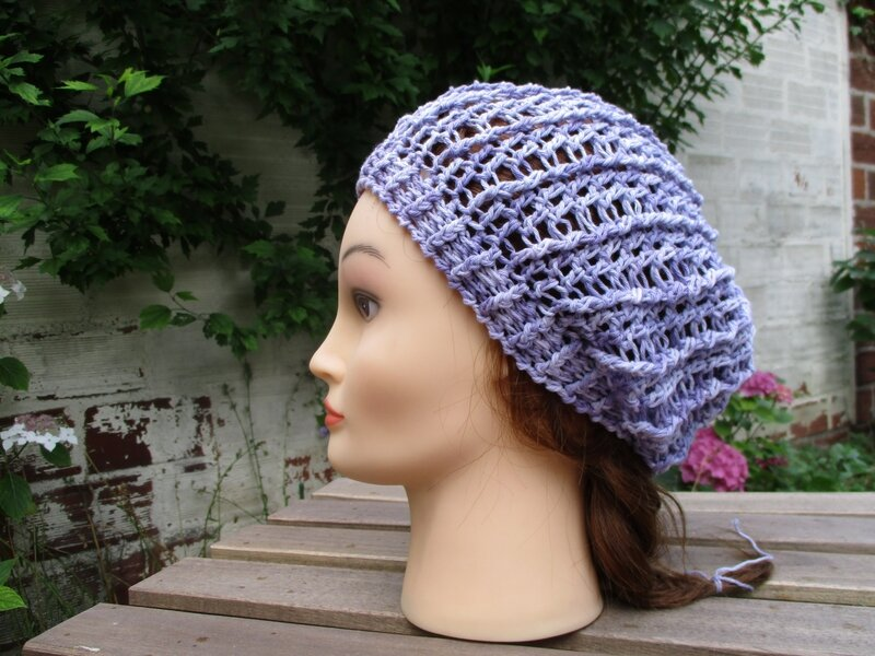 Bonnet simple en fil coton (9)