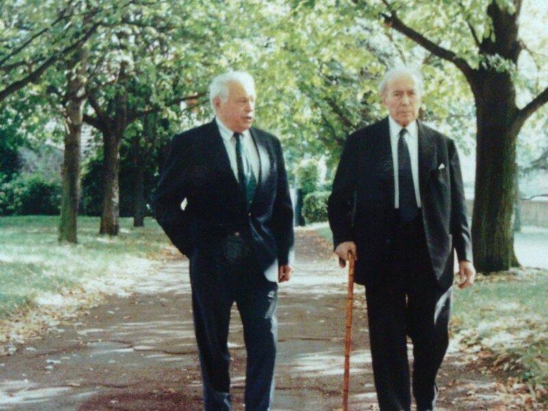 Henri Gidrol avec Pinay (2)