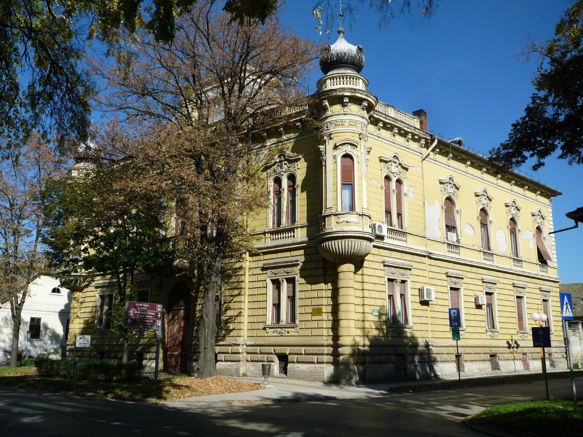Sombor, palais Kronic