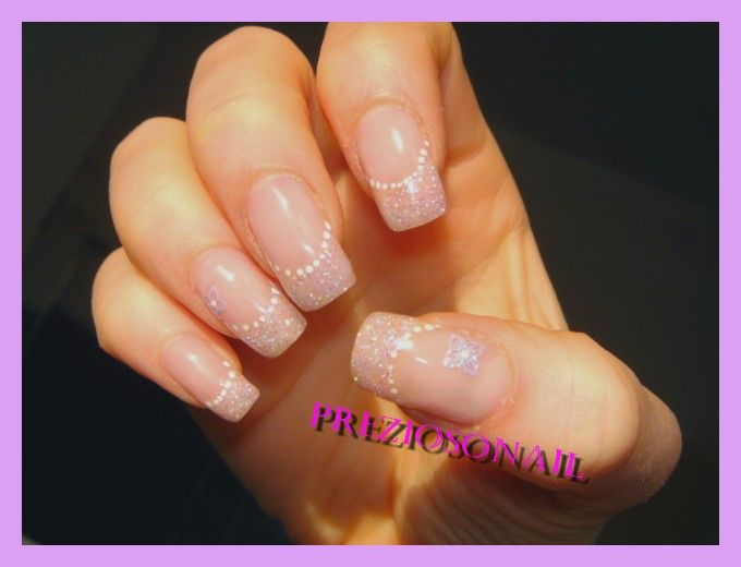 decoration ongles mariage