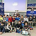 Tennis: le saladier d'argent présenté aux jeunes ...