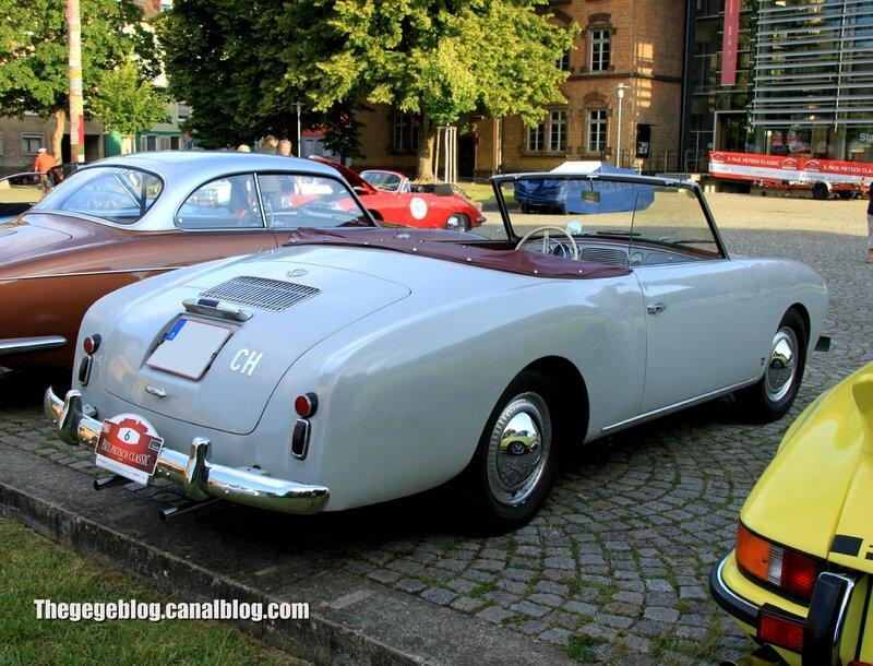 Beutler spezial cabriolet de 1953 (Paul Pietsch Classic 2014) 02