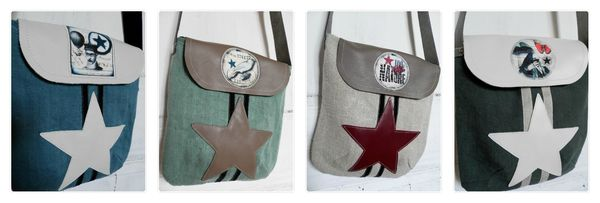 Collage sacs pochette G1