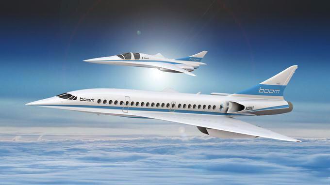 AVION supersonique japonais