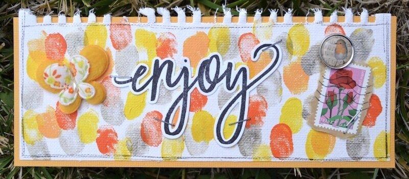 Carte pour Nathouest (anniversaire) 1 - Echange Carterie du Potager Créatif - Août 2017