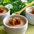 Petits pots de crème à la mangue (sans oeufs)