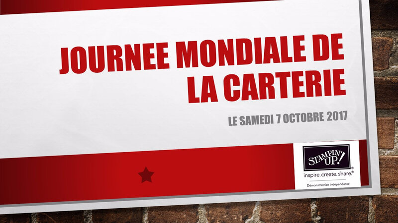 JOURNEE MONDIALE DE LA CARTERIE