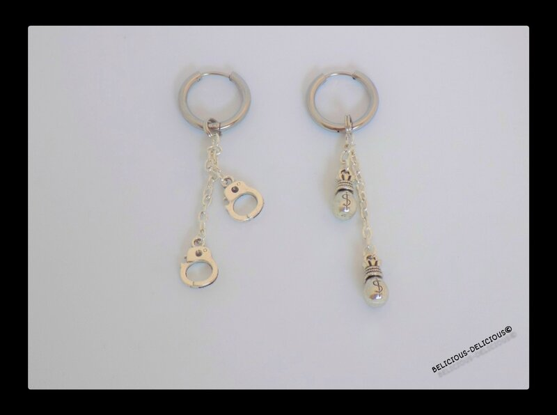 earrings mens moto 3