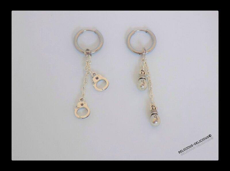 earrings mens moto 3