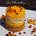 Millefeuille de pain d'pices-mangue-foie gras