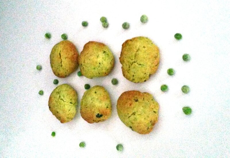 Cookies petits pois