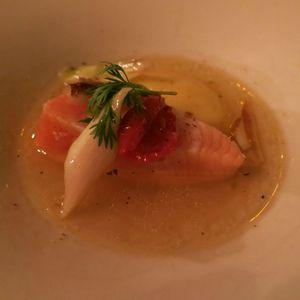 Vivant Saumon mi cuit mariné (1) J&W