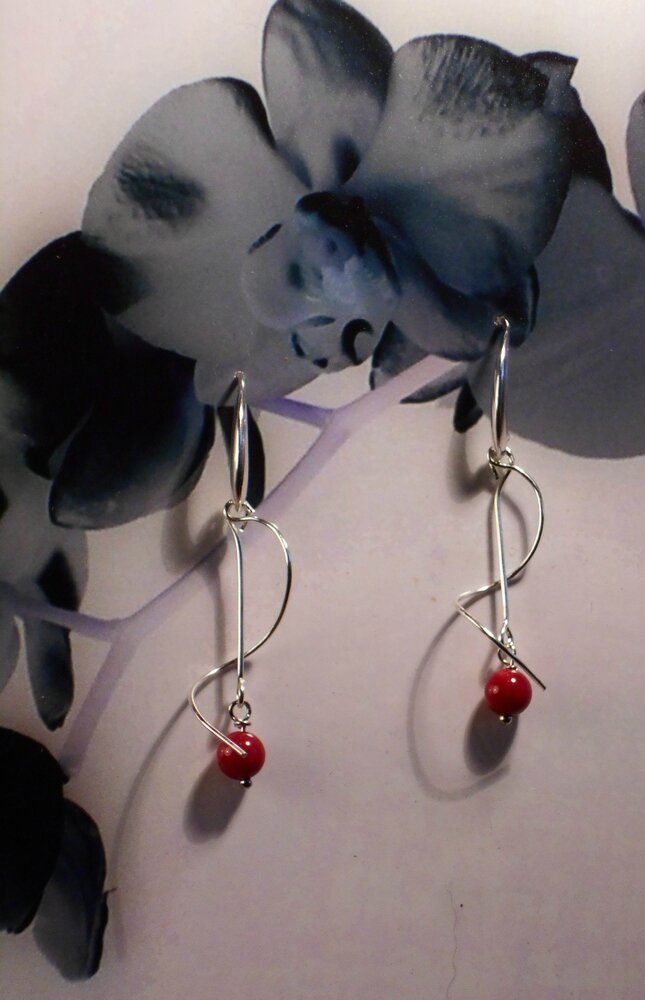 3 Boucles d'oreille en gorgone - 5 euros vendues