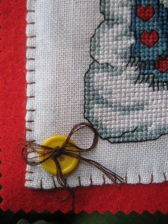 Ronde coussin mars 2