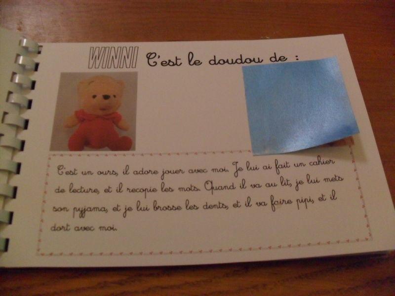 L 39 album des doudous de la classe la classe de m lusine - La maison des doudous ...