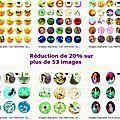 Réduction de 20% sur toutes les images digitales - du 18 au 31 août