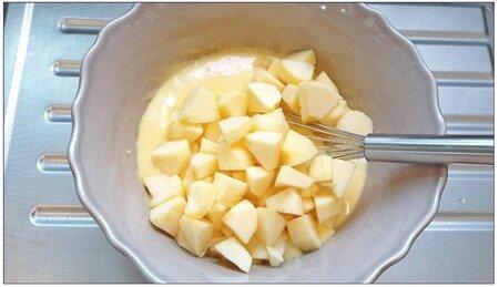 moelleux aux pommes (cookeo ou pas)8