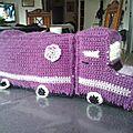 doudou camion au crochet