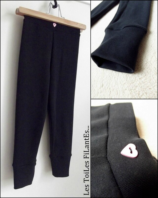 Tunique plume et leggings9