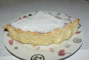 Pâte sablée noix de coco tarte 1