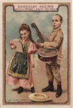 Chromo Chocolat Poulain