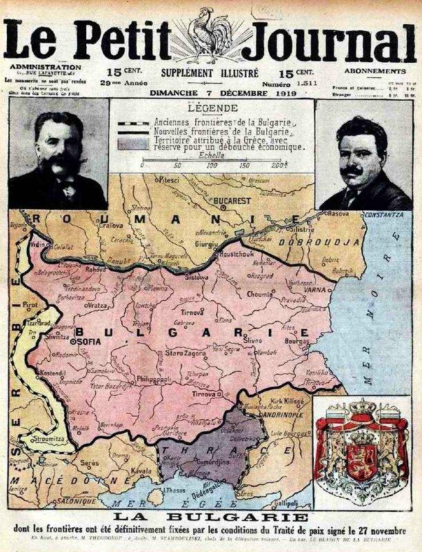 Le petit journal frontières bulgarie