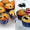 Muffins  la myrtille
