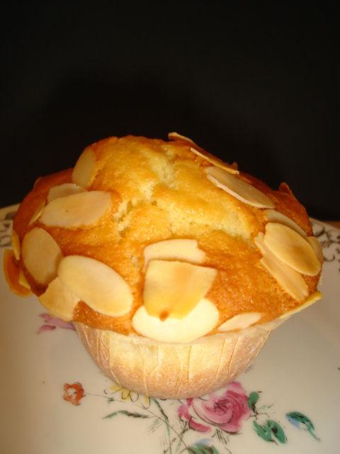 muffins pommes amandes